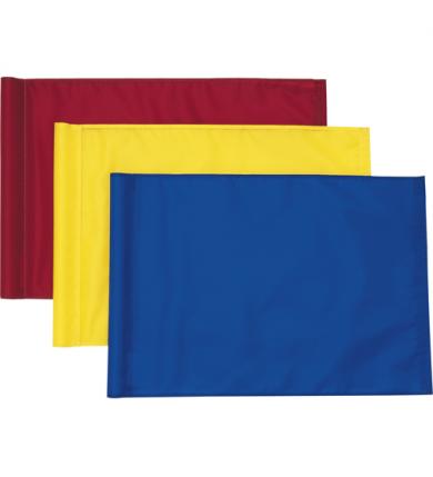 Flagga, gul tub