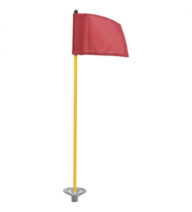 """Flaggstång """"Junior"""" - gul"""