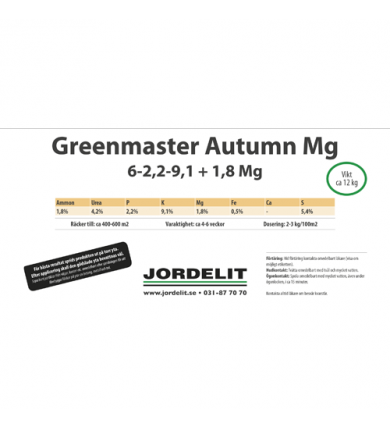 Hink Greenmaster Autumn, 12 Kg
