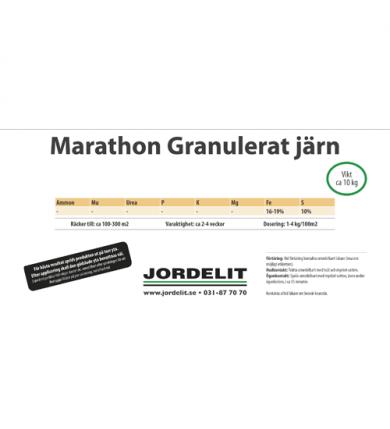 Hink Marathon Gran. järn, 10 Kg