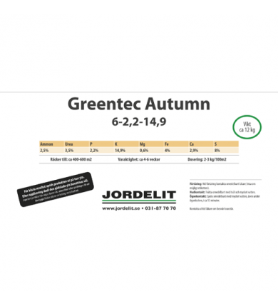 Hink Headl. Greentec Autumn 12 Kg