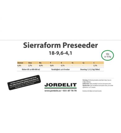 Hink Sierraform Preseeder 10 Kg