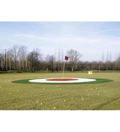 Target Green - Röd/Vit/Grön (4 m)