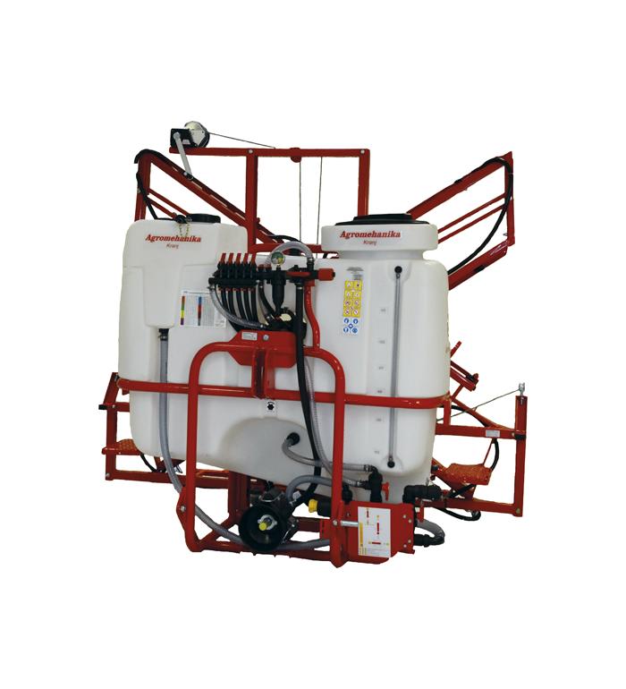 Agromehanica AGS 800 EN ink. 12m MRX-2 bom inkl. kraftöverföringsaxel