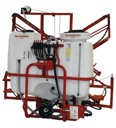 Agromehanica AGS 600 EN ink. 12m MRX-2 bom inkl. kraftöverföringsaxel