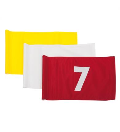 Flagga - 10-18 röd på vit