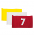 Flagga - 10-18 svart på gul