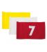 Flagga - 1-9 röd på vit