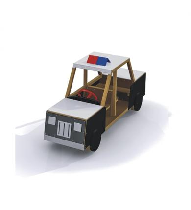 Lekutrustning Polisbil