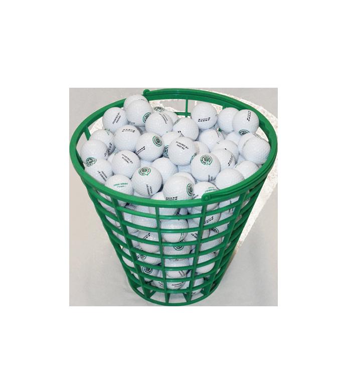 Bollkorg rund grön (RS) 75 bollar