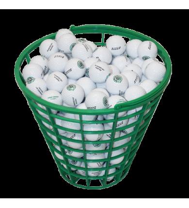 Bollkorg rund grön (RS) 100 bollar