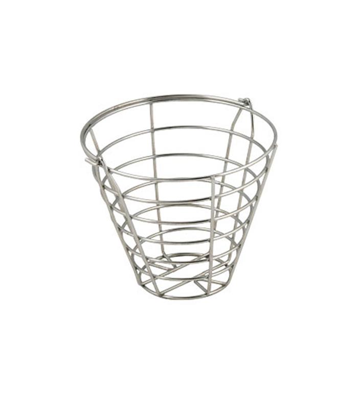 Bollkorg - Rund 50 bollar, stål