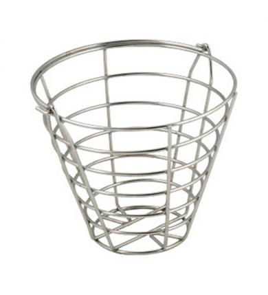 Bollkorg - Rund 85 bollar, stål