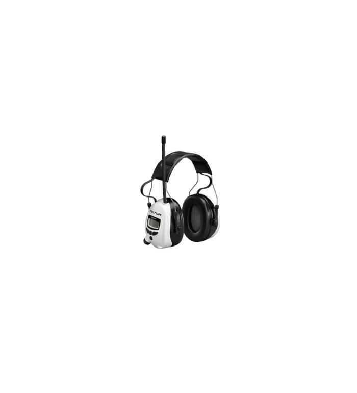 Peltor Hörselskydd FM-Radio - Vit