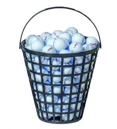 Bollkorg - (RS) DELUX Rund 45 bollar, svart