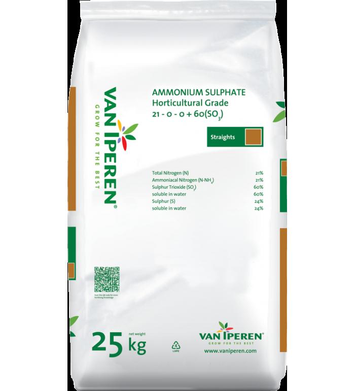 Ammonium Sulfat lösligt 25 kg.