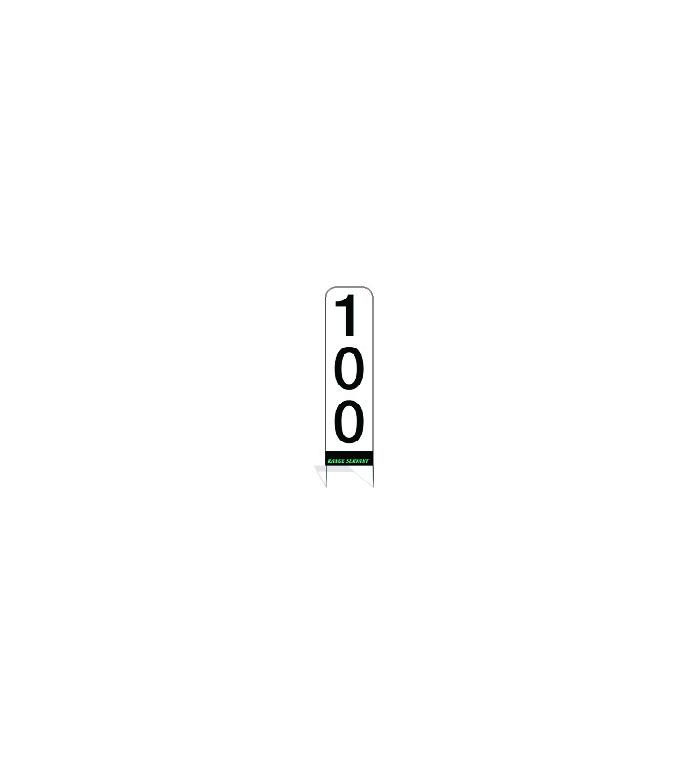 Avståndstavla (RS) - Vertikal RS kompl. 50