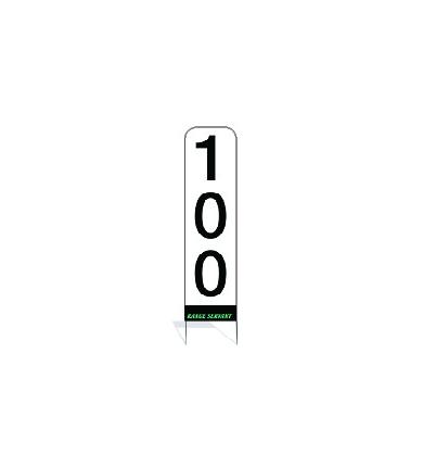 Avståndstavla (RS) - Vertikal RS kompl. 100