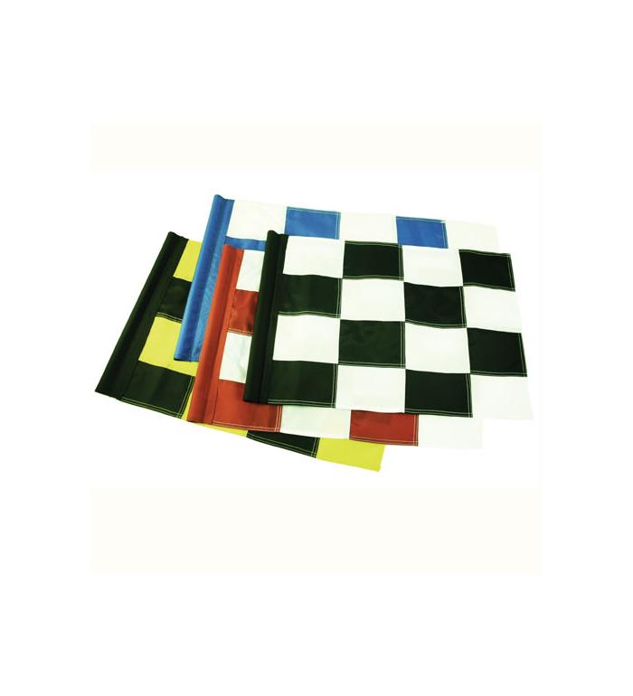 Rangeflagga XL Nylon Rutig - Gul/svart