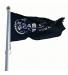 Flagga 180x300 cm, m. screentryck, enfärgstryck (antal 3-5)