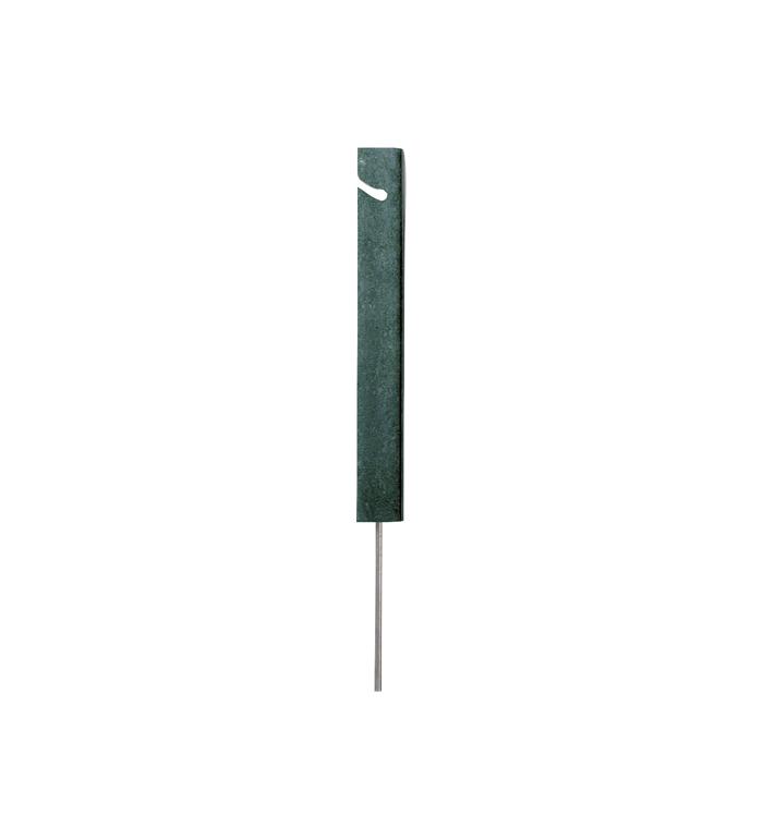 Repstolpe 30 cm fyrkantig grön PA