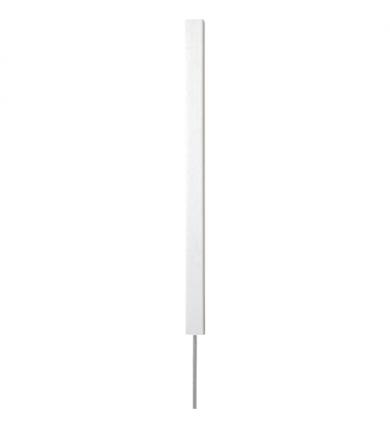 Hindersmarkering - vit fyrkantig