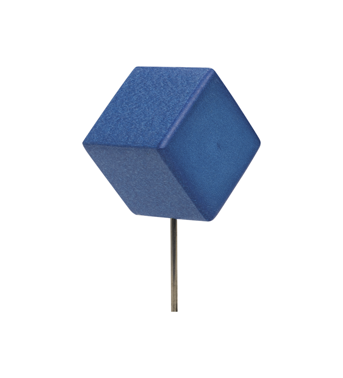 Teemarkering, Tilted block - blå